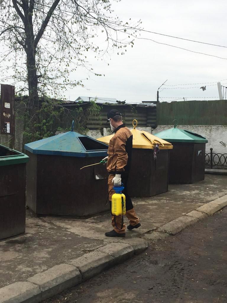Служба дезинфекции в городе Алматы